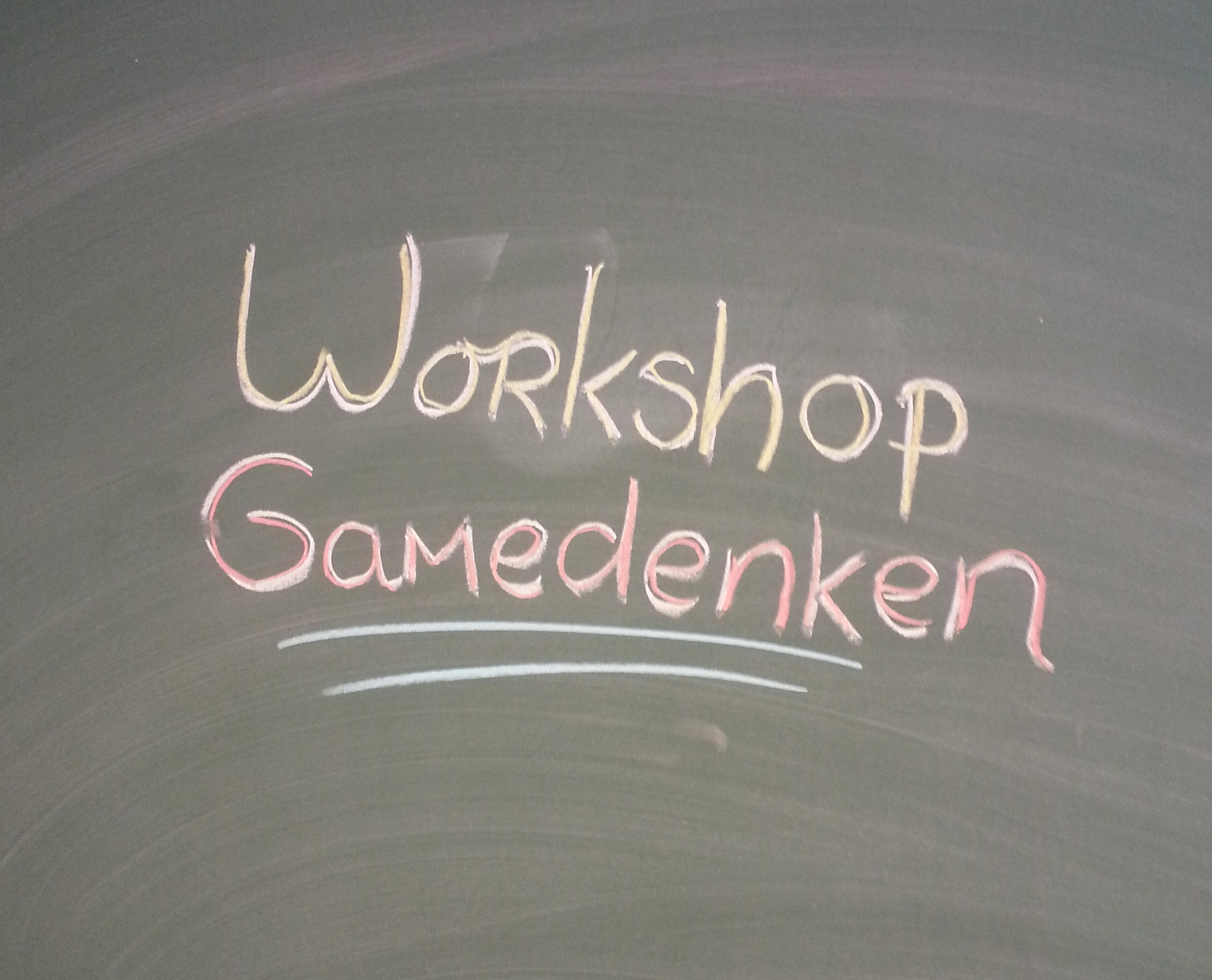 Workshop gamedenken blog