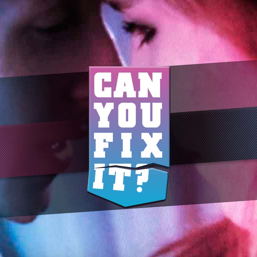 can you fix it logo