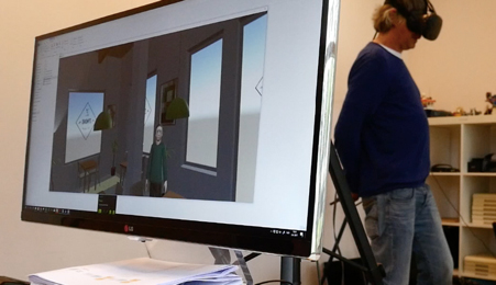 Virtual Reality Testpersoon