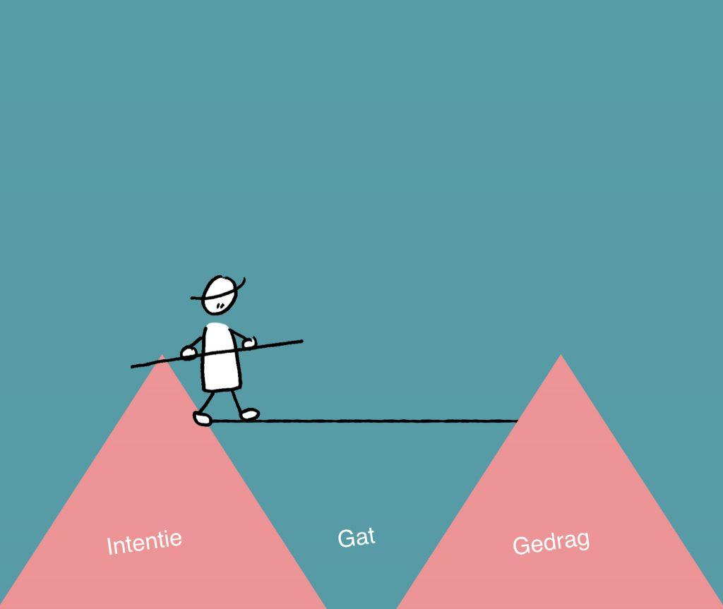 intention behavior gap